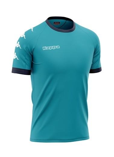 Kappa Poly T-Shirt Turkuaz